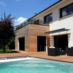 maison contemporaine terrasse bois