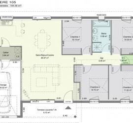Lavande 105 m²