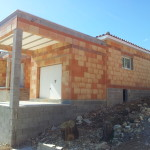 Villa à MONS (30340) - Chantier en cours