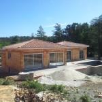 Villa MONS (30340) - chantier en cours